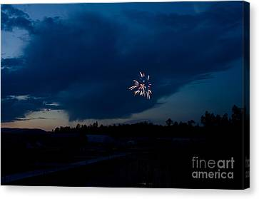 Independance Canvas Print - Fireworks 5 by Cassie Marie Photography