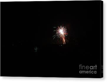 Independance Canvas Print - Fireworks 50 by Cassie Marie Photography