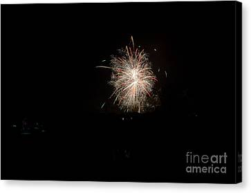Independance Canvas Print - Fireworks 51 by Cassie Marie Photography