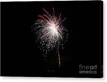 Independance Canvas Print - Fireworks 53 by Cassie Marie Photography