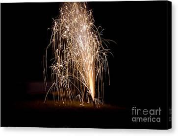Fireworks 7 Canvas Print