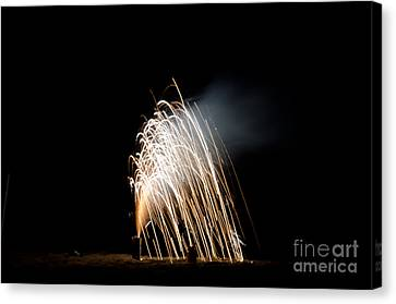 Independance Canvas Print - Fireworks 8 by Cassie Marie Photography