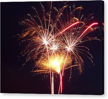 Fireworks 8x10 Canvas Print by Toby McGuire