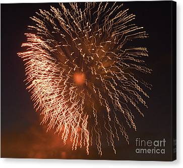 Fireworks Abstract 04 Canvas Print