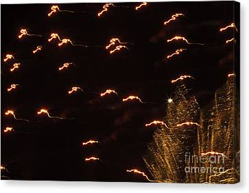 Fireworks Abstract 05 Canvas Print