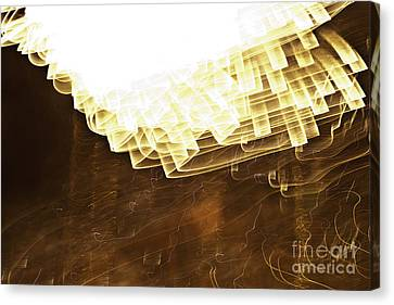 Fireworks Abstract 08 Canvas Print