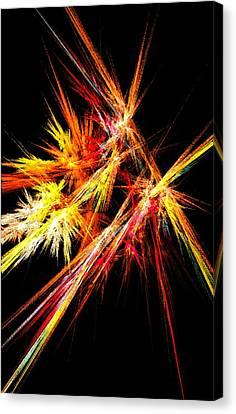 Fireworks Canvas Print by Anastasiya Malakhova