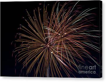 Fireworks Canvas Print by Jason Meyer