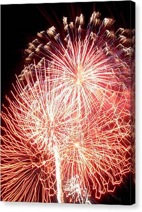 Fireworks Canvas Print by Joseph Norniella