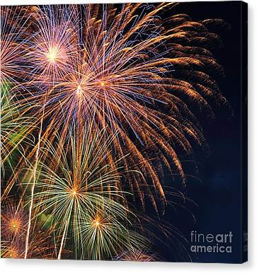 Fireworks - Royal Australian Navy Centenary Canvas Print