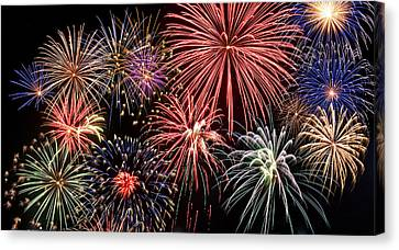 Fireworks Spectacular IIi Canvas Print