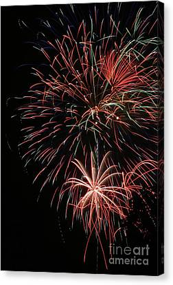 Fireworks6525 Canvas Print by Gary Gingrich Galleries