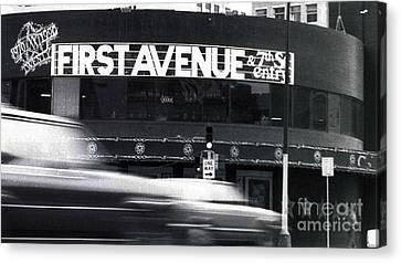 First Avenue Canvas Print by Kip Krause