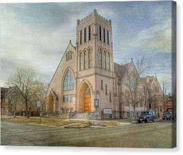 First Avenue Presbyterian Church  Canvas Print by Juli Scalzi