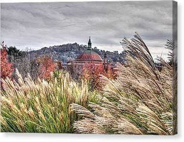 First Baptist Of Asheville Canvas Print