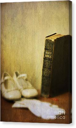 First Communion Canvas Print
