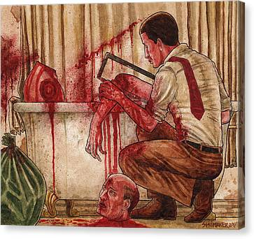 First Dismemberment Canvas Print by David Shumate