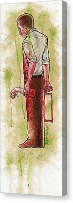 First Dismemberment No 1 Canvas Print by David Shumate