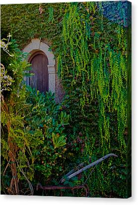 First Door On The Left Canvas Print by Bill Gallagher
