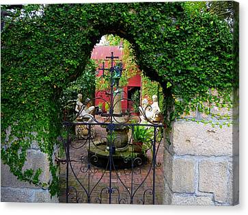 First Gate Canvas Print by Phil King