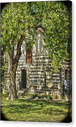 First House In Wichita Canvas Print