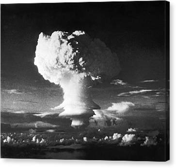 First Hydrogen Bomb Explosion Canvas Print