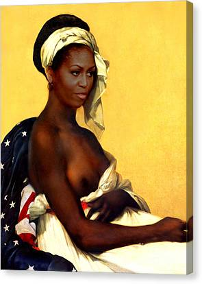 First Lady Canvas Print