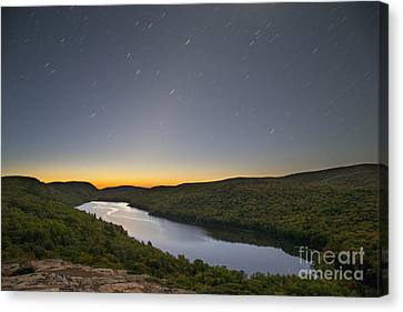First Light At Lake Of The Clouds Canvas Print by Twenty Two North Photography