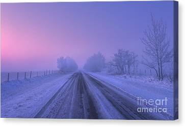 First Light Canvas Print by Dan Jurak