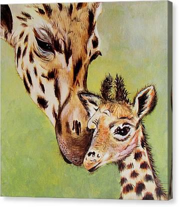 First Love Canvas Print by Susan Duxter