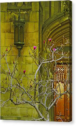 First Methodist Episcopal Church In Pasadena 1923 Canvas Print by Ben and Raisa Gertsberg