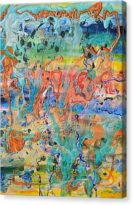 First Microseconds Canvas Print by Regina Valluzzi