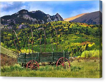First Mini Van Canvas Print by Mike Flynn