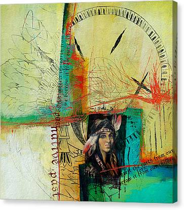 First Nations 10 Canvas Print by Corporate Art Task Force