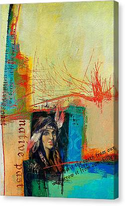First Nations 10b Canvas Print by Corporate Art Task Force
