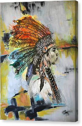 First Nations 26b Canvas Print by Corporate Art Task Force