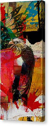 First Nations 29 Canvas Print by Corporate Art Task Force