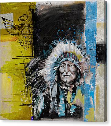 First Nations 33 Canvas Print by Corporate Art Task Force