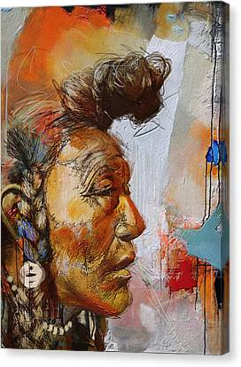 First Nations 4 Canvas Print by Corporate Art Task Force