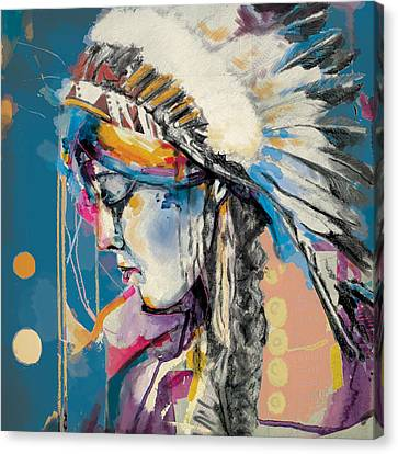 First Nations Canvas Print - First Nations 7b by Corporate Art Task Force
