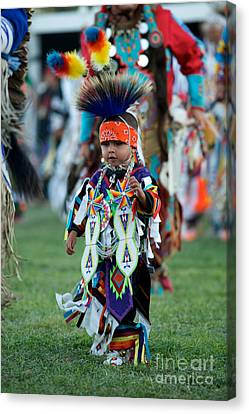 First Powwow Canvas Print