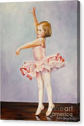 First Recital Canvas Print