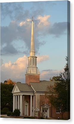 First United Methodist Church Lake City Florida Canvas Print