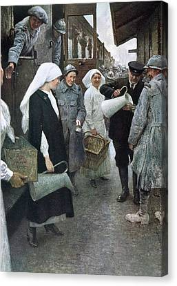 First World War (1914-1918 Canvas Print by Prisma Archivo