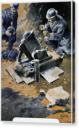 First World War Canvas Print
