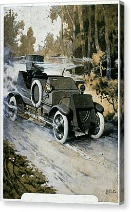 First World War Vehicle Canvas Print