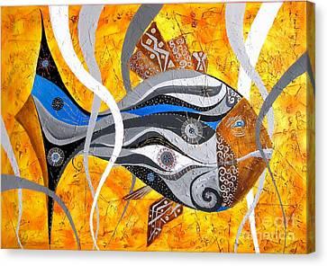 Fish 0465 - Marucii Canvas Print by Marek Lutek