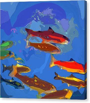 Fish 1 Canvas Print by David Klaboe