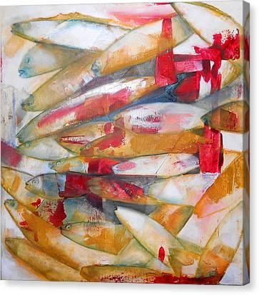 Fish 3 Canvas Print by Danielle Nelisse