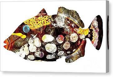 Fish 504-11-13 Marucii Canvas Print by Marek Lutek